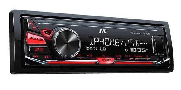 JVC KD – X241 Car Stereo