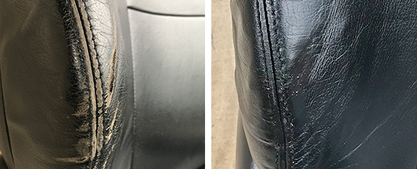 disaster leather seat repair